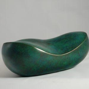 "Camy sculpture- Bronze - titre ""Galet"""