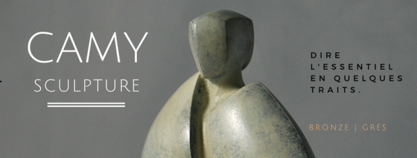 bannière de Camy sculpture