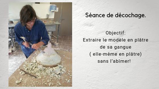 """alt=""""Camy sculpteur au travail"""""""