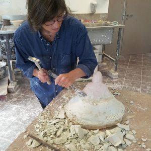 Camy sculpture - artiste parcours CV