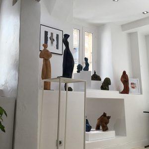 Camy sculpture - Galerie Gordes- Luberon