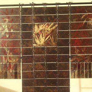 camy sculpture- acier- grands kimonos