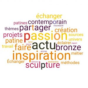 Camy sculpture -inscription Newsletter