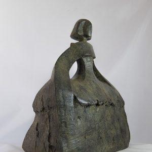 sculpture en bronze menine