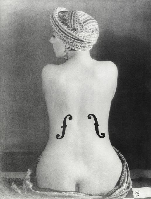 violon d Ingres Man Ray