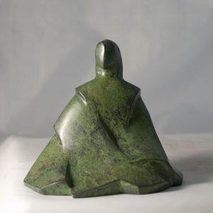 camy sculpture petit matin bronze