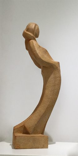 camy sculpture l appel du vide gres